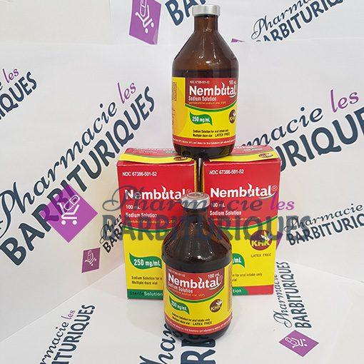 Solution orale de Nembutal 100ml