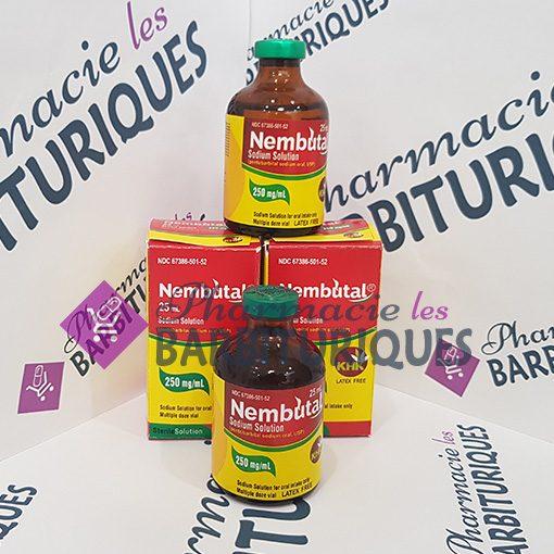 Solution orale de Nembutal 25ml